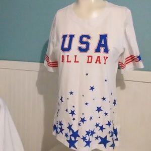 Hybrid Short Sleeve Shirt. Size L